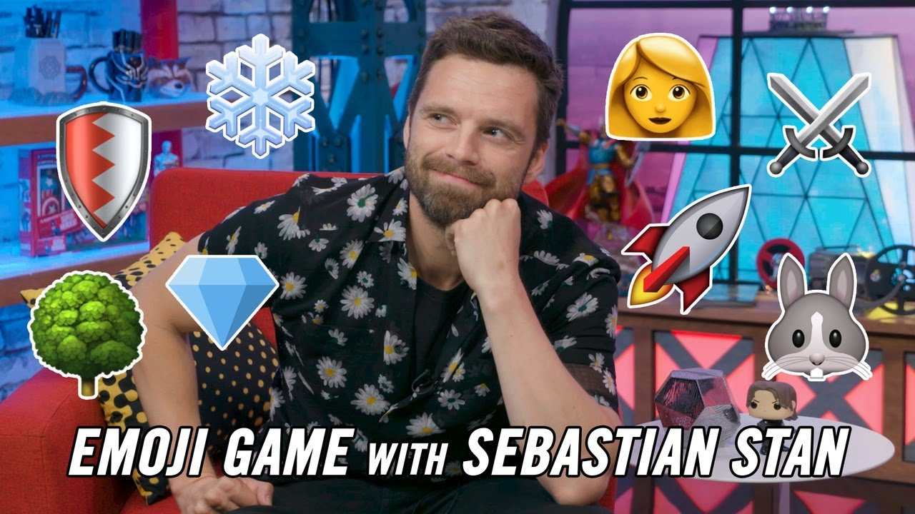 Emoji Game with Sebastian Stan   Marvel Studios' Avengers  Infinity War