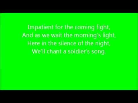 A Soldiers Song with lyrics   YouTube
