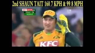 Shoaib Akhtar, Shaun Tait  or Brett lee | Who is the best bowler