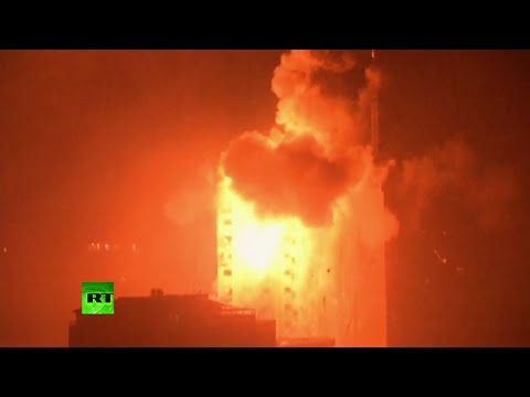 IMPACTANTES IMÁGENES: Israel reanuda los ataques contra la Franja de Gaza