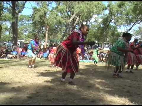 Torres Strait Islander dancers at Laura Festival (4)