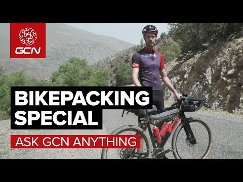 Bikepacking Special With Josh Ibbett | Ask GCN Anything About Cycling