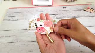 Embellished Ticket Strip, Tag and Altered Paperclip ** Project Share** Happymail Ideas