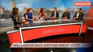 BBC Politics Live 18/03/2019 WILL LABOUR BACK ANOTHER BREXIT VOTE?