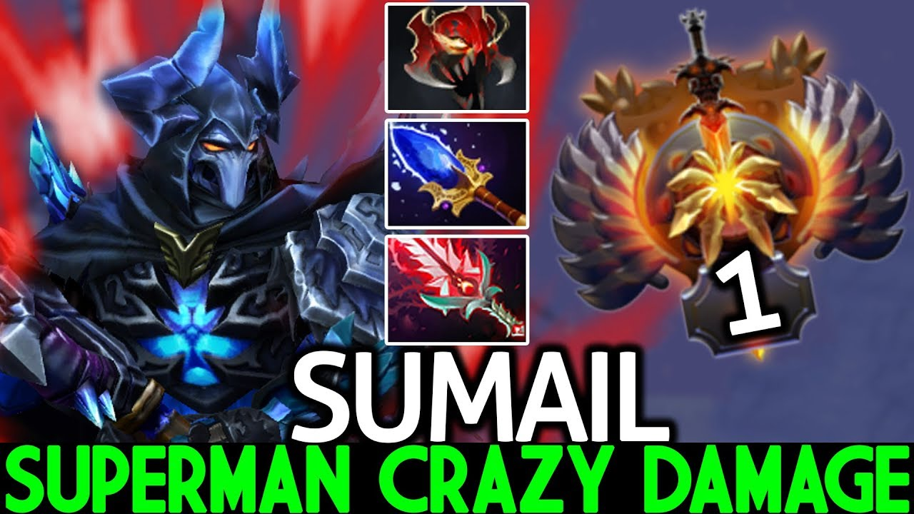 SUMAIL [Sven] Epic Superman Crazy Damage Monster Late Game 7.23 Dota 2 thumbnail