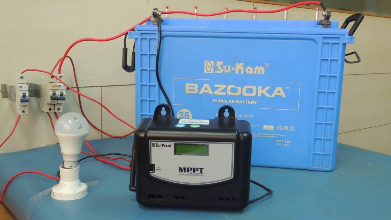 How to Install Your MPPT Solar Charge Controller - YouTube
