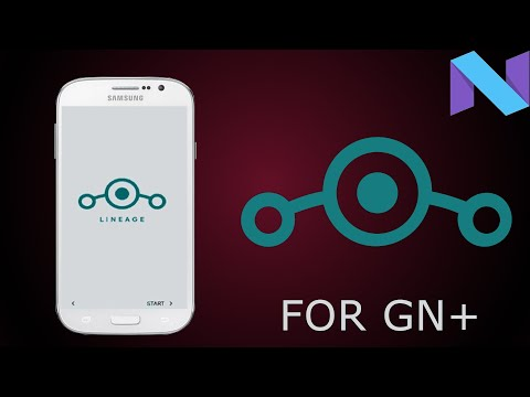 LINEAGE 14 WITH GAPPS AROMA IN GN+ - Education Video