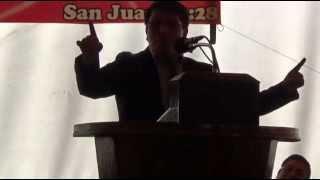 SEA EL NOMBRE DE JEHOVA BENDITO  SALA EVANGELICA  ELADIO COY MICH  CONFERENCIAS EVANGELICA   SAN  AN