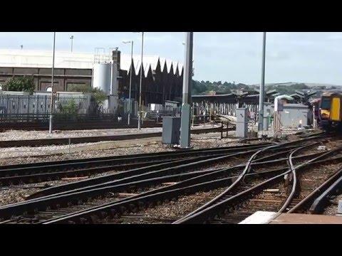 Trains at Brighton   Monday 6th July 2015