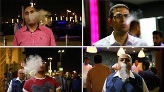 الآيس كريم بالنيتروجين لأول مرة فى مصر (اتفرج)