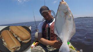 CATCH & COOK: Flounder! (Fluke) - EASY METHOD!