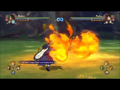 ALL KATON/FIRE STYLE JUTSU - Naruto Shippuden Ultimate Ninja Storm 4
