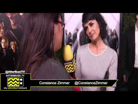 Agents of SHIELD 100th Episode Celebration Interview with Constance Zimmer