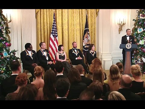 President Obama Speaks at the Kennedy Center Honors Reception