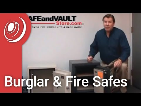 "Burglar & Fire Safes Video with ""Dye the Safe Guy"""
