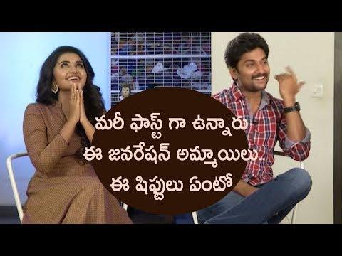 విచిత్రమైన సౌండ్స్ చేస్తుంటుంది సెట్ లో    Nani Anupama funny interview    Krishnarjuna Yuddham