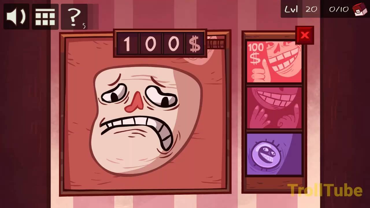 Troll Face Quest Video Games Level 20 Walkthrough - YouTube