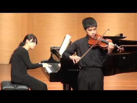 [2015藝享盃音樂大賽]V06小提琴國小六年級組第一名 楊竣凱
