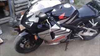Honda CBR 600 RR краткий обзор