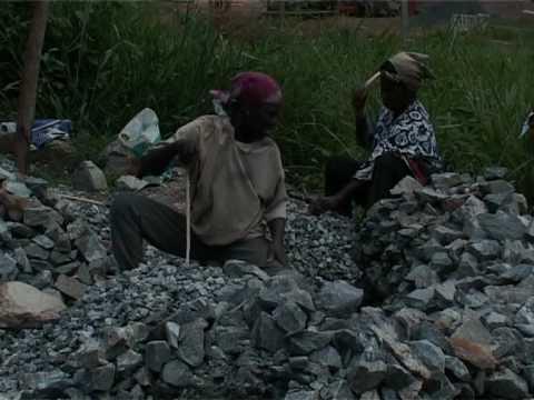 Quarry in Ghana
