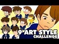 9 Art Style Challenge