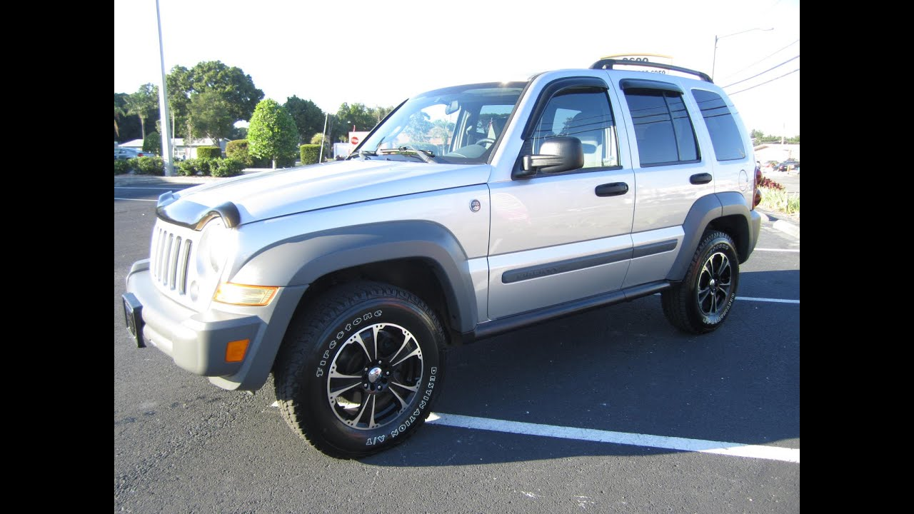 sold 2005 jeep liberty sport 4x4 one owner meticulous