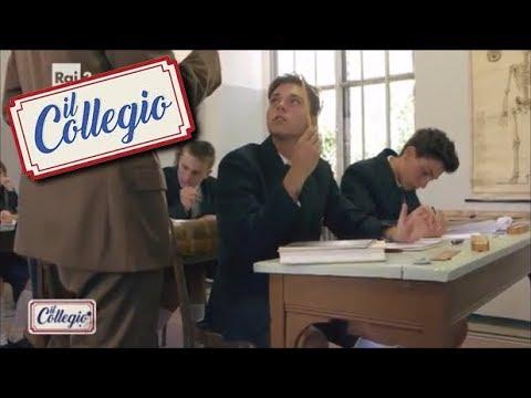 Dettato di italiano con penna stilografica - Prima puntata - Il Collegio