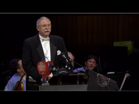 Ig Nobel prizes (the weird and wacky science) (Global) - BBC News - 14th September 2018