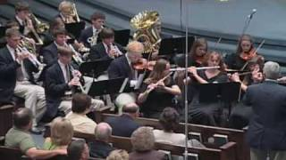 """""""How Great Thou Art"""" - MS Baptist All-State Youth Choir & Orchestra 2004"""
