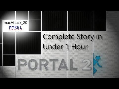 Portal 2 Full Storyline in 1 Hour!