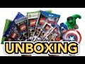 LEGO Marvel Avengers (PS4 / Xbox One / PS3 / Xbox 360 / Wii U / PS VITA / 3DS) Unboxing!!