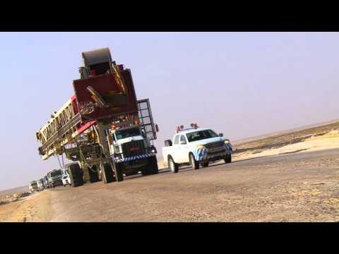 T93 Rig Move – Khazzan Field