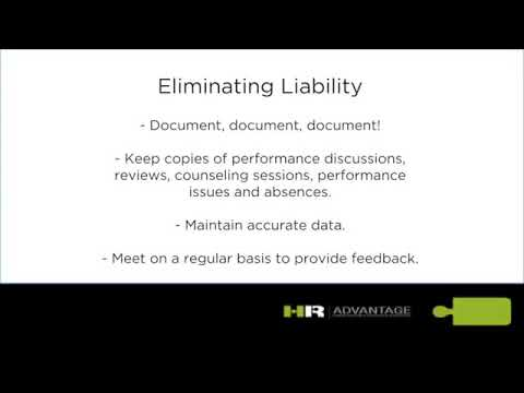 Eliminating Liability (HR Advantage)