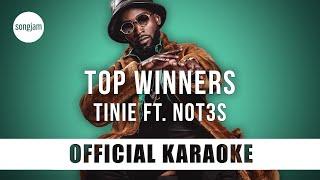 Download lagu Tinie - Top Winners ft. Not3s (Official Karaoke Version) | SongJam