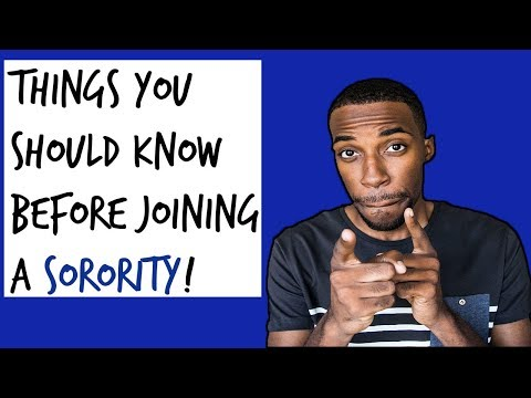 THINGS YOU NEED TO KNOW BEFORE JOINING A SORORITY | NPHC SORORITY ADVICE