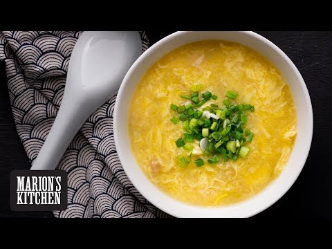 Chinese Egg Drop Chicken Soup - Marion's Kitchen