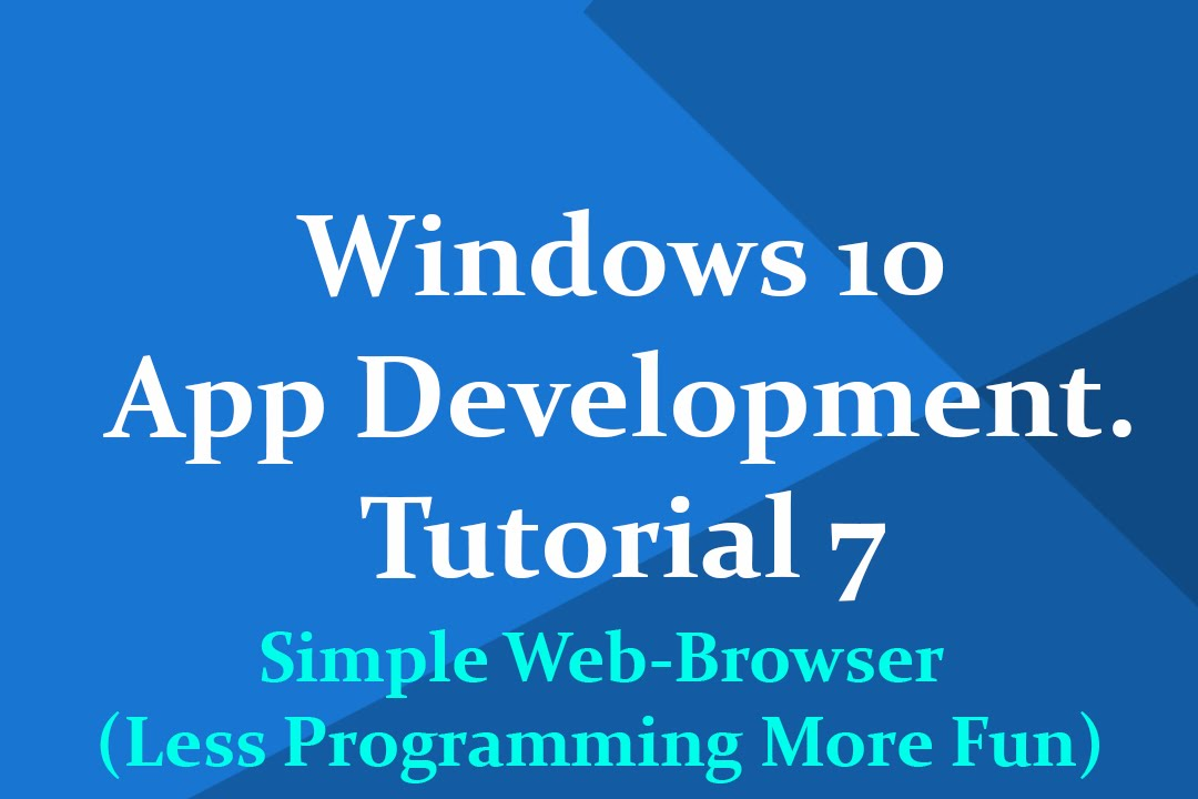 "Windows 10 universal app development""-tutorial 5: *forms* in vs."