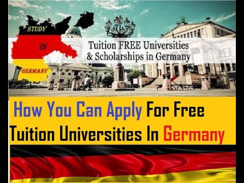 Germany : Tuition Free Fees Universities List