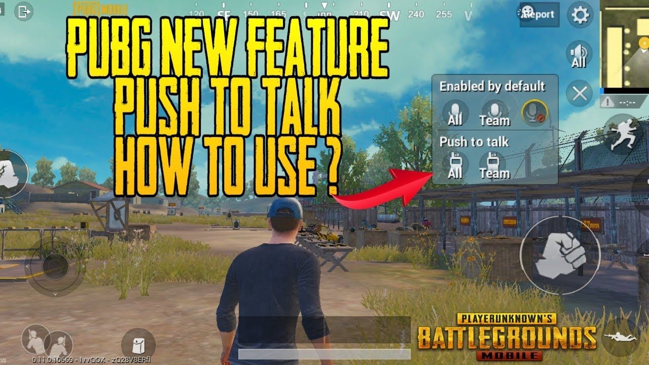 0nly 0.9% People Know About This Trick | Pubg Push To Talk How To Properly Use In Pubg Mobile  #Smartphone #Android