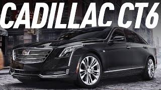 Американский S-Класс /Cadillac Ct6/Кадиллак Си-Ти-Сикс/Большой Тест Драйв