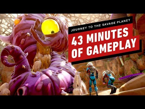 43 Minutes of Journey to the Savage Planet Gameplay