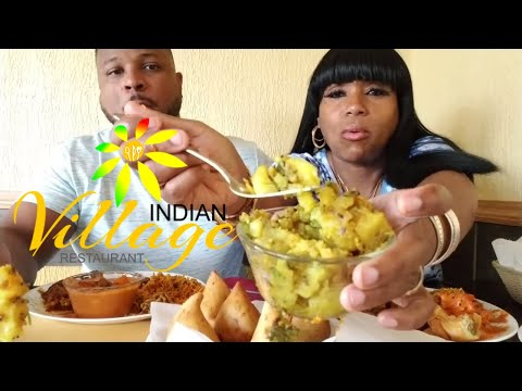 Indian Cuisine/ Indian Village Restaurant/Buffet/Curry Goat/Samosas!