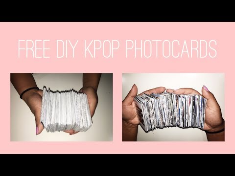 FREE DIY KPOP PHOTOCARDS + BTS GIVEAWAY [closed]