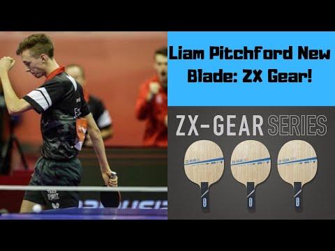 Liam Pitchford's New Blade Review! Victas ZX- Gear Vs Koki Niwa Carbon
