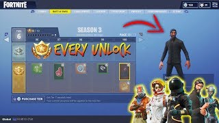 New! EVERY Unlockable Item In Fortnite Season 3