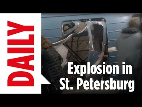 Russland: Explosion in U-Bahn in St. Petersburg - BILD Daily live 03.04.17