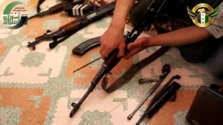 كتيبة أسود الله: التدريب على سلاح كلاشنكوف, درس 1 HD