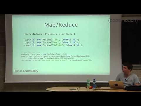 Infinispan -- the open source data grid platform by Mircea Markus