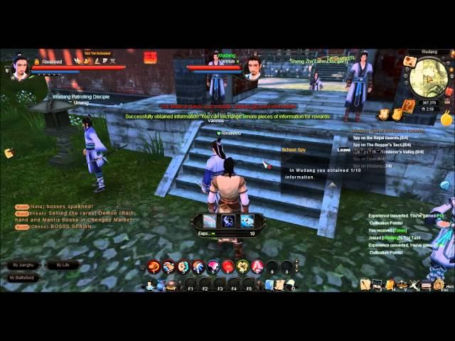 Age of Wushu Walkthrough Part 1