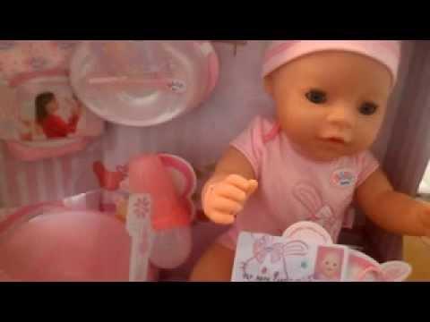 2002 Zapf Baby Annabell Rock A Bye Chou Chou Interactive